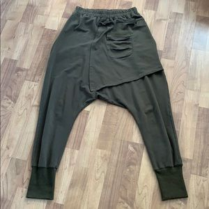 Back Grommet Harem Dance Pants